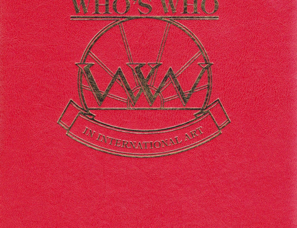WHO'S WHO IN INTERNATIONAL ART – Έκδοση 2012>2013